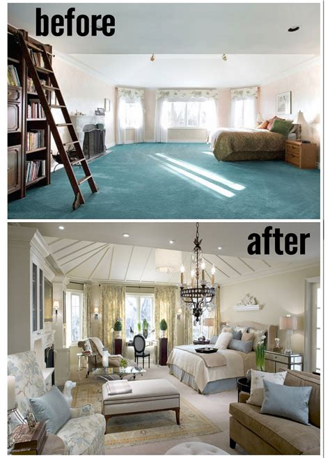 master bedroom remodel before and after amazing master bedrooms by candice olson before and