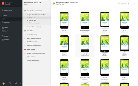 mobile center introducing visual studio mobile center preview the