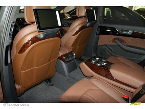 Audi A8 Nougat Brown Interior by Nougat Brown Interior 2012 Audi A8 L 4 2 Quattro Photo