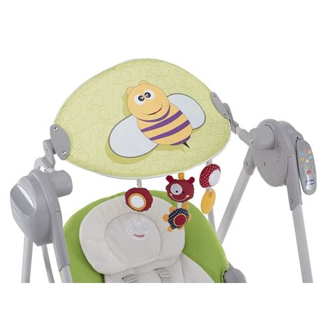 chicco polly swing up chicco polly swing up green huśtawka smyk