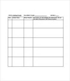 communication log template phone log template 8 free word pdf documents