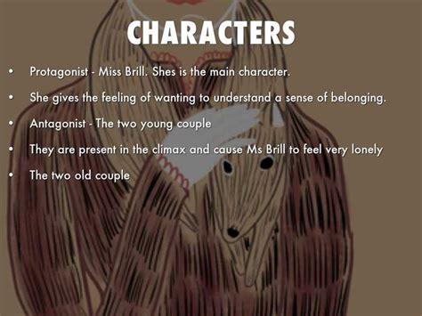 Miss Brill Theme Essay by Miss Brill Mini Character Analysis Scribd
