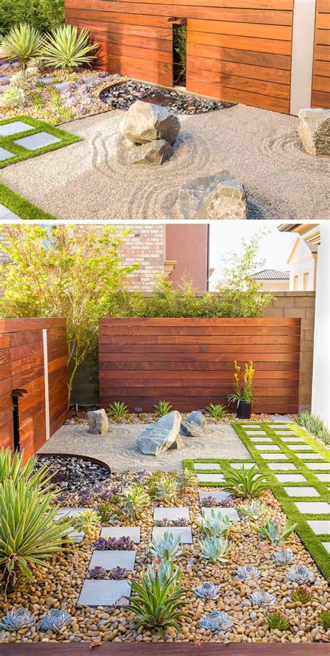 turn  backyard   perfect meditation garden