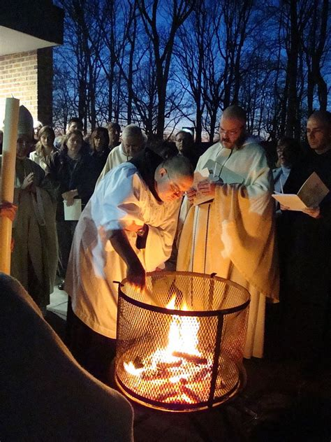 vigil lights catholic church easter vigil the light of impressions
