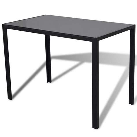 Black Table And Chairs Set by Dining Set With Table And 4 Chairs Black