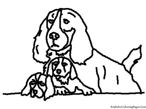 realistic coloring pages  dogs realistic coloring pages