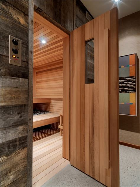 make a sauna in your bathroom 10 homes with saunas that will instantly relax you photos