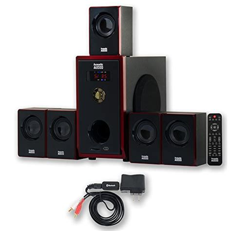 review acoustic audio aa5103 800w 5 1 channel home
