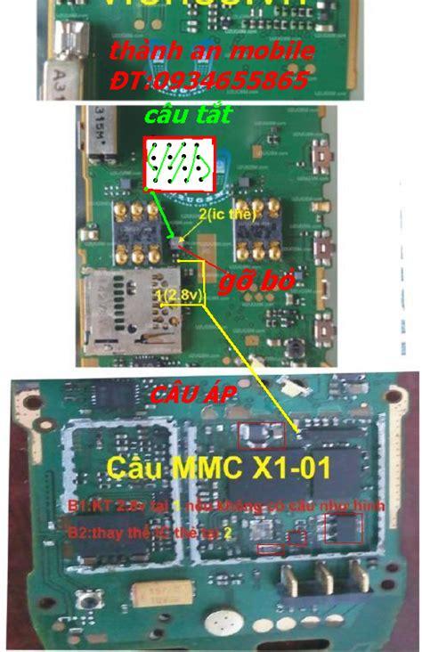Mic Nokia C2 03 C3 X2 dea cell nokia x1 01 all solution