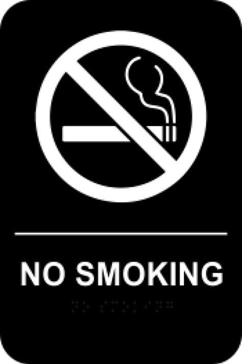 no smoking sign black templates braille no smoking sign black holmes custom