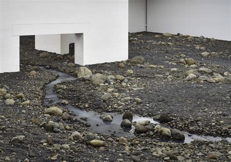 Landscape Moma Olafur Eliasson Creates An Indoor Riverbed At