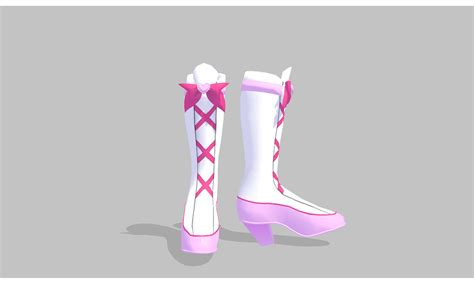 Heels Dl 27 mmd boots by amiamy111 on deviantart