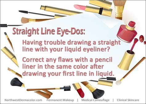 Trouble Liner Pencil line eye dos trouble drawing a line with your liquid eyeliner correct