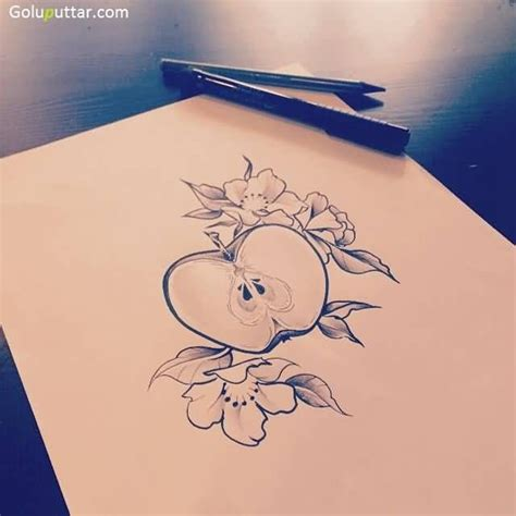 teacher tattoo designs 25 best ideas about apple on