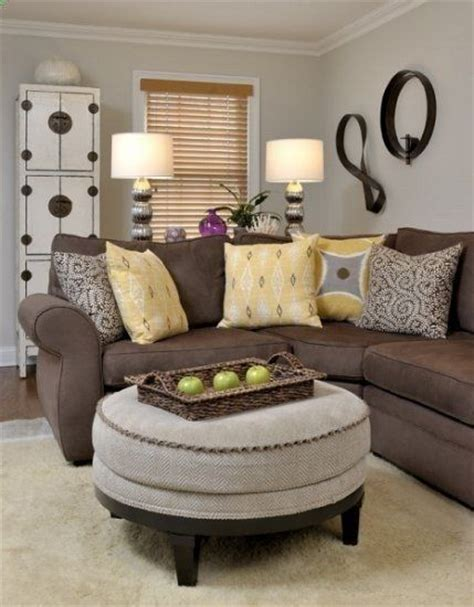 accent colors for brown 25 best ideas about brown sofa decor on brown