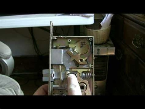 Mortise Lock Schlage L9050 Template