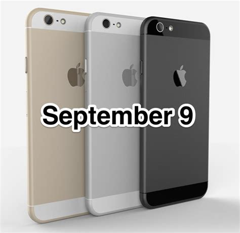 Iphone 9 Release Date Iphone 6 Launch Date September 9