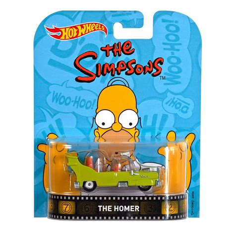 Hotwheels Retro The Simpsons The Homer wheels retro entertainment series the simpsons quot the homer quot diecast vehicle 1 64 scale at