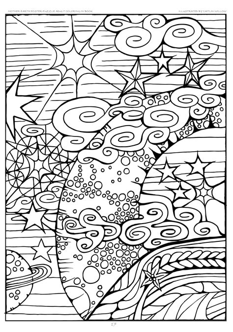 mother earth coloring page mother earth poster puzzle adult coloring in book adult