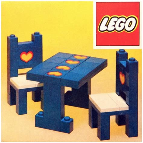 Lego Table And Chairs by Lego Table And Chairs Set 275 Brick Owl Lego Marketplace