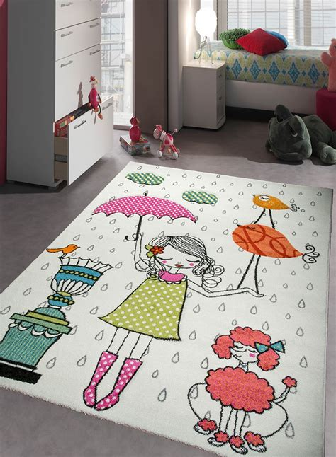 tapis chambre fille