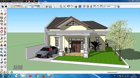 desain rumah eropa classic tutorial sketchup desain rumah classic sederhana part 4