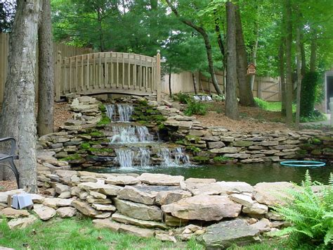 backyard feature ideas backyard water feature window ac stove basement