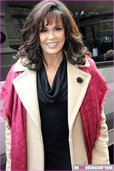 marie osmond hairstyles feathered layers marie osmond s haircut new doos pinterest haircuts
