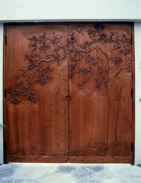 Japanese Exterior Doors David Frisk Doors D20 Japanese Style Entry Gates