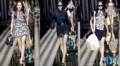 Dolce And Gabbana Fall 2007 Collection by Asian Models Dolce Gabbana And D G Fall 2007