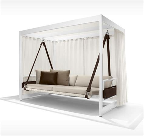 pallet daybed swing cool and casual city c collection outdoor furniture