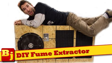 how to get fans diy fume extractor