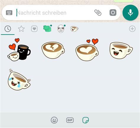 Eigene Sticker Erstellen Whatsapp by So Funktionieren Die Neuen Sticker Bei Whatsapp Techbook
