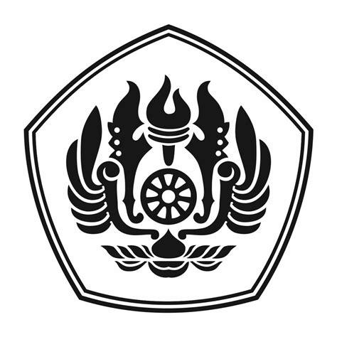 logo unpad official versi hitam putih logo unpad