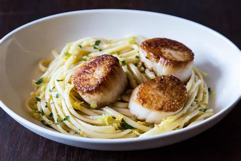 simple dishes simple pasta with leeks and scallops recipe on food52