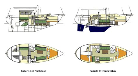small yacht layout the coast 34 sailboat bluewaterboats org