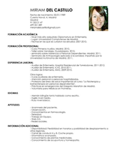 Modelo De Curriculum Vitae De Un Asistente Contable Peru Modelo De Curr 237 Culum V 237 Tae Auxiliar De Enfermero Auxiliar De Enfermero Cv Plantilla Livecareer