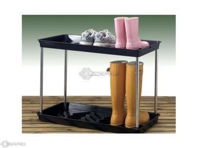 2 tier muddy boot and shoe tray