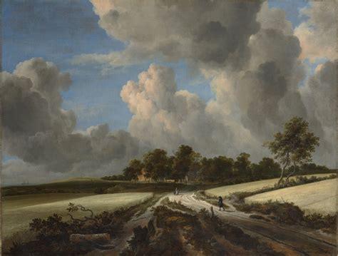 Jacob Van Ruisdael The Wheat Fields