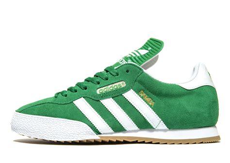 adidas originals samba  green  men lyst