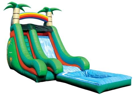 how to make a water slide in your backyard water slide rental jacksonville inflatable water slides