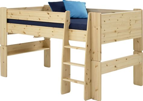 Pine Mid Sleeper Bed by Steens For Mid Sleeper Bed In Pine