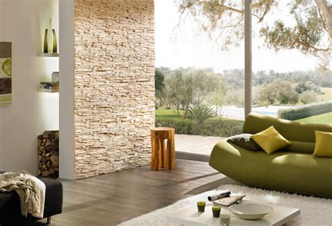 Stone Look Feature Wall Stone Design Pegasus Series Beige