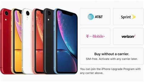 unlocked iphone xr now available to buy in the united states