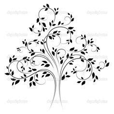 tattoo choker adalah swirly tree silhouette swirly tree silhouette pictures