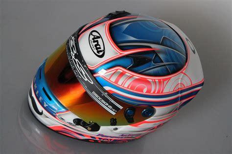 helm design karting bs designs peinture personalis 233 e sur casques