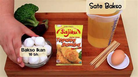 cara membuat kuah bakso ala dapur umami dapur umami sate bakso youtube