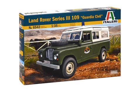 land rover italeri land rover series iii italeri 6542