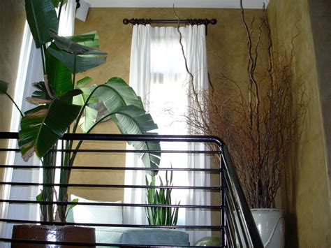 staircase window curtains window treatments
