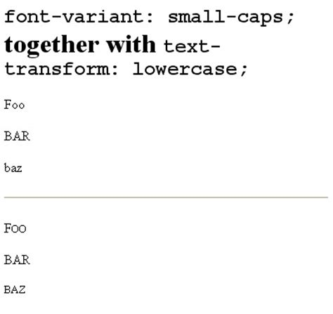 Text Outline Css Explorer by Css Font Variant Small Caps Together With Text Transform Lowercase